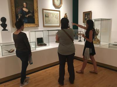 Visite publique de l'exposition © Musée des Beaux-Arts