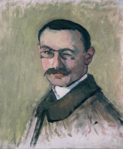 Albert Marquet, Autoportrait, 1904