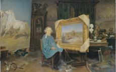 Portrait de Rosa Bonheur par Georges-Achille Fould, Photo : L. Gauthier.
