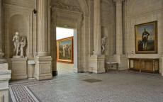 Hall nord du musée des Beaux-Arts de Bordeaux, photo F. Deval