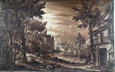 Giovanni Antonio Berinzago, <i>Le Siège de Troie</i> © Musée des Beaux-Arts de Bordeaux