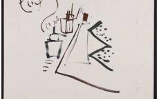 Daniel Dezeuze, sans titre, 1963