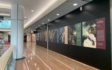 exposition au centre commercial de Mériadeck