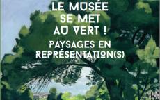 Le musée se met au vert, affiche de l'exposition, Musée des Beaux-Arts de Bordeaux