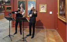 Concert : Tristan Chenevez et Stéphane Rougier au musée. Live Facebook