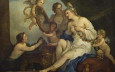 Charles Joseph NATOIRE, <i>Vénus à la toilette</i> © Musée des Beaux-Arts de Bordeaux