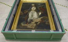 Imagen de una caja de transporte ©Musée des Beaux-Arts-mairie de Bordeaux