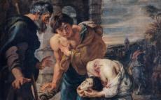 Pierre Paul Rubens, Le Miracle de saint Just, détail, 1629-1630 © Musée des Beaux-Arts de Bordeaux, Photo : L. Gauthier.