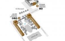 Museum map © Musée des Beaux-Arts-mairie de Bordeaux