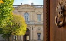 Porte du musée des Beaux-Arts de Bordeaux, détail © F. Deval - mairie de Bordeaux