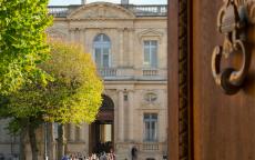 Porte du musée © F. Deval - mairie de Bordeaux