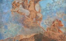 Odilon Redon, Le Char d'Apollon, 1909 © Musée des Beaux-Arts de Bordeaux.
