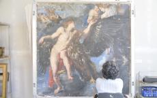 Restauration de <i>L'Enlèvement de Ganymède</i> de Rubens