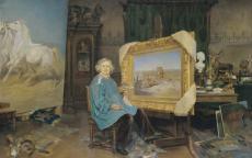 Achille Fould, <i>Rosa Bonheur dans son atelier<i/> © Musée des Beaux-Arts de Bordeaux F. Deval
