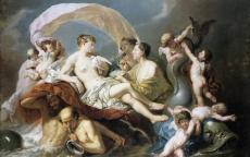 Johan Zoffany, Vénus sur les eaux, 1760 © Musée des Beaux-Arts de Bordeaux, Photo : L. Gauthier.