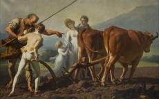 François André VINCENT, <i>La leçon de labourage</i> © Musée des Beaux-Arts