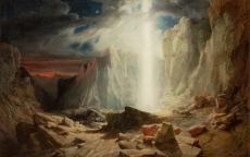 William West, Les Hébreux traversant le désert © Bristol, Bristol Museum & Art Gallery
