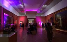 Ambiance lumineuse dans les salles du musée, Bacchanight 4 © Claire Dansaut
