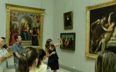 Visite publique dans les collections permanentes
