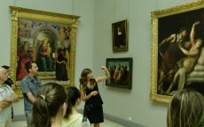 visit at the museum © Musée des Beaux-Arts-mairie de Bordeaux.