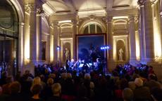 Concert dans le hall nord du musée des Beaux-Arts de Bordeaux