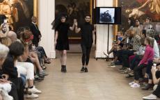 Défilé de mode au musée des Beaux-Arts de Bordeaux