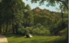 Francis Danby, <i>Une scène à Leigh Woods (A Scene in Leigh Woods)</i>, 1822, huile sur toile, Bristol Museum & Art Gallery.
