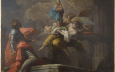 Apparition de la Vierge à saint Ferdinand III de Castille, par Antonio Gonzalez Velasquez