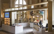 La boutique du musée des Beaux-Arts de Bordeaux. F. Deval