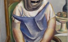 La jeune fille au poisson Bissière