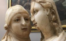 La Visitation, anonyme anglais, XVeme siècle.
