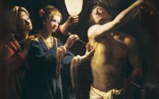 Le Maître à la chandelle, Saint Sébastien soigné par Irène © Musée des Beaux- Arts de Bordeaux