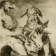 Goya Physionomiste, serie los caprichos (détail) 1799, © Madrid, Calcographie National