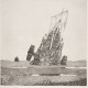 Nature morte au bateau, 1995, estampe, burin sur papier, don de l'artiste au musée des Beaux-Arts de Bordeaux, 2018 © Bordeaux, musée des Beaux-Arts © Adagp, Paris 2018