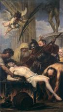 Image : MNR 425 : Jan Boeckhorst, Le Martyre de saint Laurent