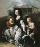 """Image de """"La veuve du serviteur d'Elisée implorant l'aide du prophète""""© Musée des Beaux-Arts-mairie de Bordeaux. Cliché L. Gauthier"""