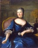 """Image de """"Portrait de Gabrielle Emilie Le Tonnelier de Breteuil, Marquise de Châtelet""""© Musée des Beaux-Arts-mairie de Bordeaux. Cliché L. Gauthier"""