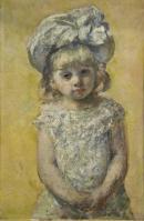 """Image de """"Portrait de fillette"""", Mary Cassatt © Musée des Beaux-Arts, mairie de Bordeaux. Cliché F. Deval"""