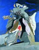 Image : La Lutte avec l'ange. CLaude Bellan