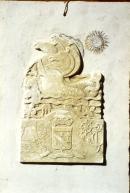 Image : Maquette en plâtre pour un bas-relief d'Alexandre Callède. Allégorie de la mer pour la façade de l'Hôtel des Postes d'Arcachon