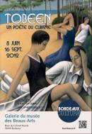 """Affiche de l'exposition """"Tobeen"""""""
