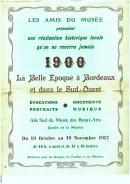 Image de l'affiche de l'exposition 1900 : La Belle Epoque, 1957