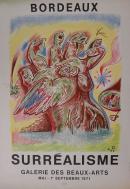"""Affiche de l'exposition """"Surréalisme"""", 1971"""