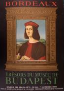 Affiche de l'exposition Trésors du musée de Budapest, 1972