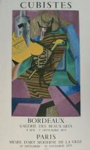 Affiche de l'exposition Les Cubistes, 1973