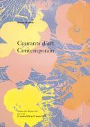 Couverture du dossier de présentation de l'exposition du musée des Beaux-Arts de Bordeaux Courants d'art contemporain : collection de la Société Générale