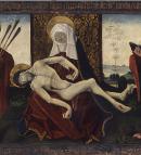 Détail - Hans Clot, Vierge de Pitié. Musée des Beaux-Arts de Bordeaux