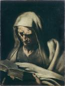 """Image de """"Prophète en buste lisant""""© Musée des Beaux-Arts-mairie de Bordeaux. Cliché L. Gauthier"""