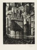 Image : Gérard Triganc. La Porte Cailhau. 1995. Dépôt Robert Coustet au musée des Beaux-Arts de Bordeaux. Serge Fernandez