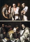 """Image de """"Dispute des philosophes et Dispute des théologiens""""© Musée des Beaux-Arts-mairie de Bordeaux. Cliché L. Gauthier"""